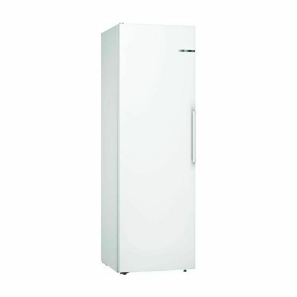 køleskab stål 145 cm